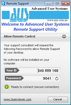 Remote Support Utility